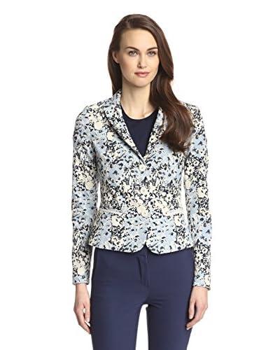 Sfizio Women's Floral Blazer