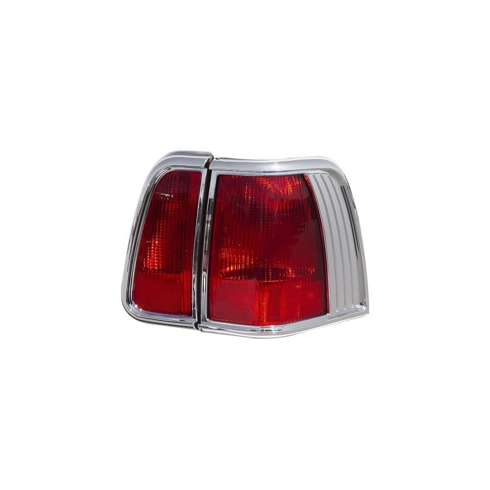 Putco 401804 Chrome Trim Tail Light Cover