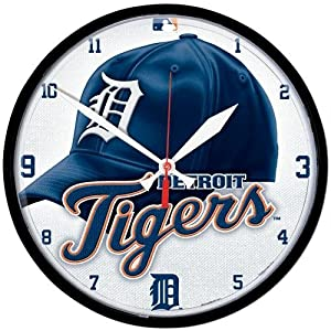 Detroit Tigers MLB Round Wall Clock by WinCraft