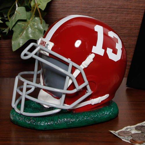 Alabama Crimson Tide Resin Helmet Bank