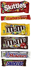 M&M Mars Variety Pack, 30 Count
