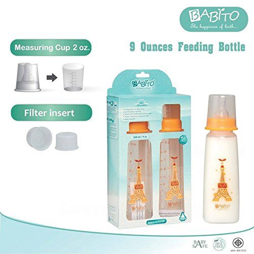 Baito BPA-Free Bottles 9oz size version Afrodita (pack of two bottles). (Flash Boiler compare prices)
