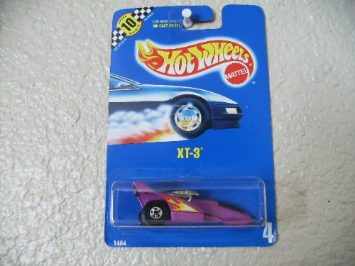 hot wheels xt-3 all blue card #4 - 1