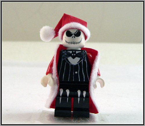 Lego Custom Nightmare Before Christmas Santa Jack 2