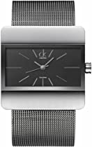 Calvin Klein Impact Quartz Black Dial Unisex Watch K5222102