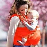 Je Porte Mon B�b� - Portabeb�s fluorescent Orange