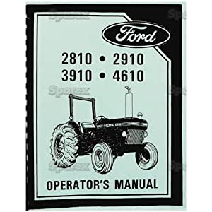 amazoncom ford tractor operatorowner manual