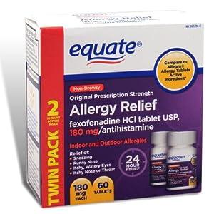 Fexofenadine 180 mg price
