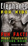 Elephants! A Kids Book About Elephants. An Exciting Fun Facts Informational Picture Book About Elephants.