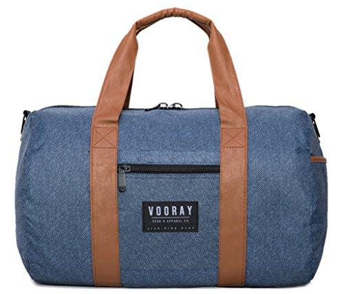 vooray-roadie-23l-gym-duffel-bag-blue-heather