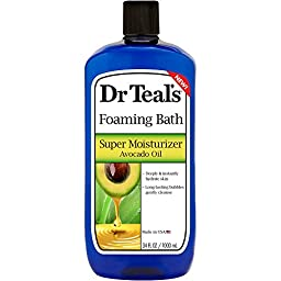 Dr Teal\'s Super Moisturizer Avocado Oil Foaming Bath, 34 fl oz