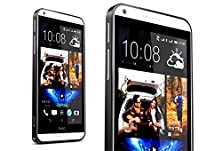 buy For Htc Desire 816 Case,[Gloryshop] Black - Hippocampal Buckle Metal Bumper Protector Skin Cover Case For Htc Desire 816