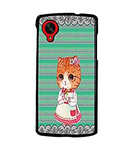 PrintDhaba Cartoon D-4735 Back Case Cover for LG GOOGLE NEXUS 5 (Multi-Coloured)