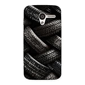 Knot Tyre Back Case Cover for Moto X