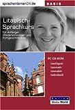 echange, troc Udo Gollub - Sprachenlernen24.de Litauisch-Basis-Sprachkurs CD-ROM für Windows/Linux/Mac OS X (Livre en allemand)