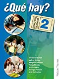 Christine Haylett 'Qué Hay? Libro del Alumno 2: Junior Secondary Spanish for the Caribbean: Student's Book and Audio CD Level 2