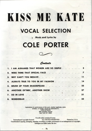 Movie rent selection vocal