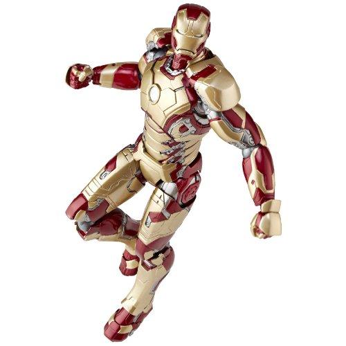 特撮リボルテック アイアンマン3 アイアンマンマーク42 ノンスケール ABS&PVC製 塗装済みアクションフィギュア 新パッケージ版 レガシーOFリボルテック