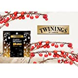 Twinings Christmas Gift Tin Caddy 100s - Earl Grey / English Breakfast -NEXT DAY (English Breakfast)