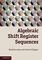 Algebraic Shift Register Sequences ebook download