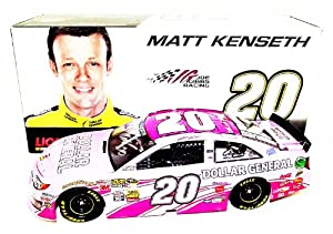 AUTOGRAPHED 2013 Matt Kenseth #20 Dollar General Racing PINK (Breast Cancer... by Trackside Autographs