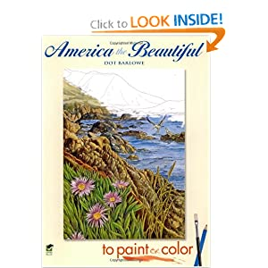 Download America the Beautiful to Paint or Color (Dover Art Coloring Book) ebook