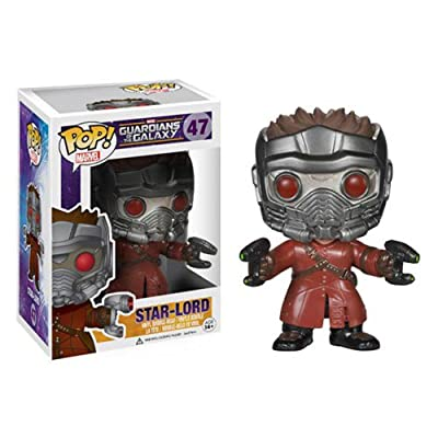 Funko POP Marvel: Guardians of The Galaxy - Star Lord Vinyl Bobble-Head Figure from Funko