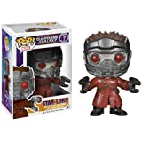 Funko POP Marvel: Guardians of The Galaxy - Star Lord Vinyl Bobble-Head Figure