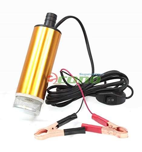 12V Submersible Diesel Fuel Water Oil Transfer Drum Pump 8Gpm Mini Refueling