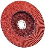 3M Flap Disc 947D, T27, X-Weight, Ceramic Aluminum Oxide, Orange