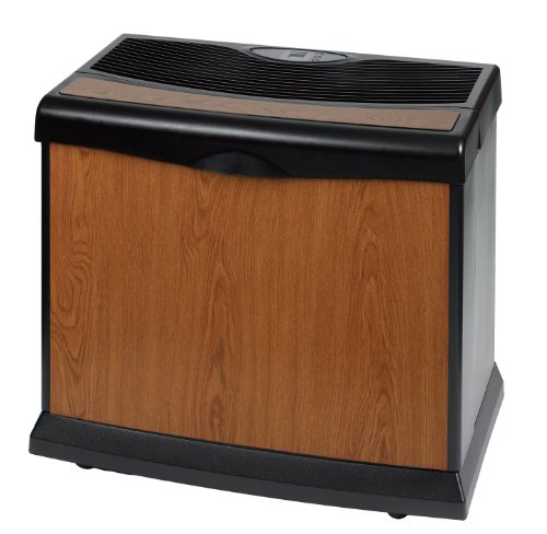 Essick Air HD1407 Whole-House Humidifier, Black/Honey Oak