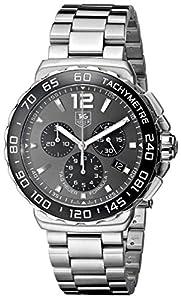 TAG Heuer Men's CAU1115.BA0858 Formula 1 Grey Dial Stainless Steel Watch