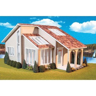 Real Good Toys Contemporary Ranch Dollhouse Kit - 1 Inch Scale (Real Good Toys Furniture compare prices)
