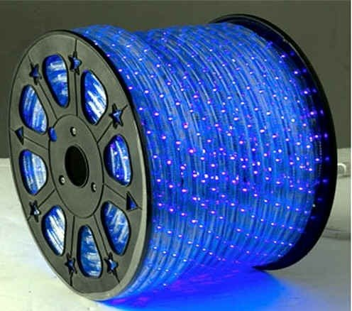 Blue Led Rope Lights Auto Home Christmas Lighting 9 Meters(29.5 Feet)