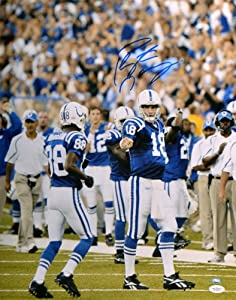 Autographed Peyton Manning Indianapolis Colts Photo - 16x20 Witness - JSA Certified -... by Sports Memorabilia