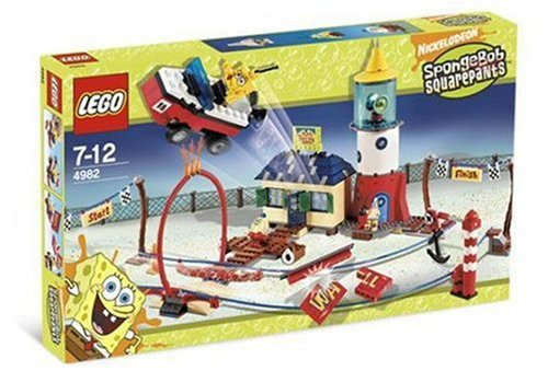 LEGO Spongebob Squarepants 4982: Mrs Puff's Boating School [Toy]