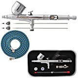 Master Airbrush® Brand G233-SET Multi-Purpose Precision Dual-Action Gravity F...