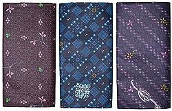 Velvet Gold Men's Cotton printed Lungi (Pack of 3)