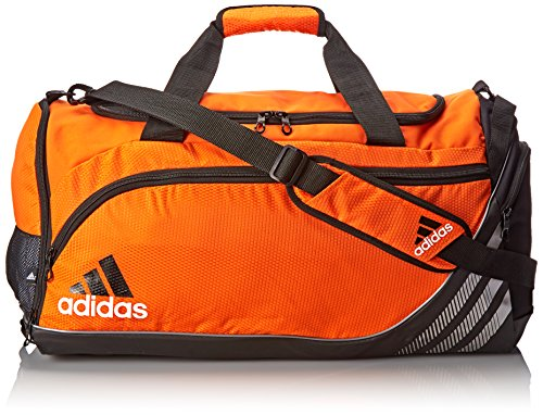 adidas Team Speed Medium Duffel Bag, Team Orange/Black