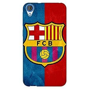 Jugaaduu Barcelona Back Cover Case For HTC Desire 820 Dual Sim