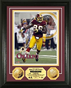 NFL Washington Redskins Brian Orakpo Photo Mint Gold Coin by Highland Mint