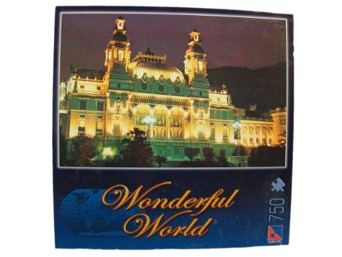 Wonderful World 750 Piece Jigsaw Puzzle: Monte Carlo Casino