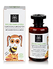 APIVITA Eco-Bio Baby & Kids Hair & Body Wash with Calendula & Honey 200ml