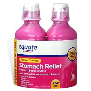 Amazon.com: Equate - Stomach Relief, Regular Strength Pink