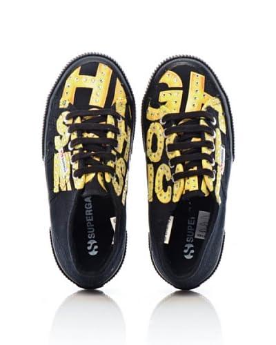 Superga Sneaker Cartoon 2750-Disney Hsmstrcobj [Nero]