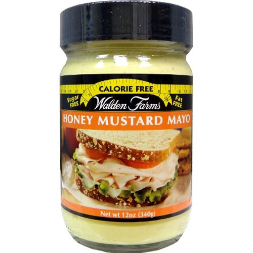 Walden Farms Mayo, Honey Mustard, 12-Ounce (Pack of 3)