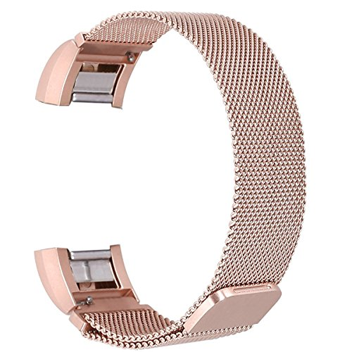 bayite-milanese-replacement-bands-for-fitbit-charge-2-rose-gold-small