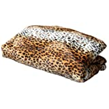 Cozy Sack Replacement Cover for Bean Bag Chair Leopard Print - Large 5'