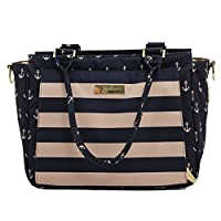 Ju-Ju-Be Legacy Nautical Collection Be Classy Structured Handbag Diaper Bag, The Commodore by Ju-Ju-Be