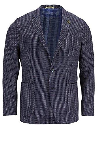 digel-sakko-arun-reverskragen-muster-dunkelblau